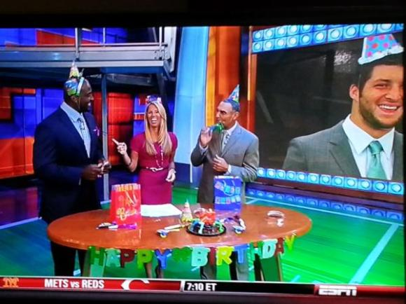 Tebow BDay